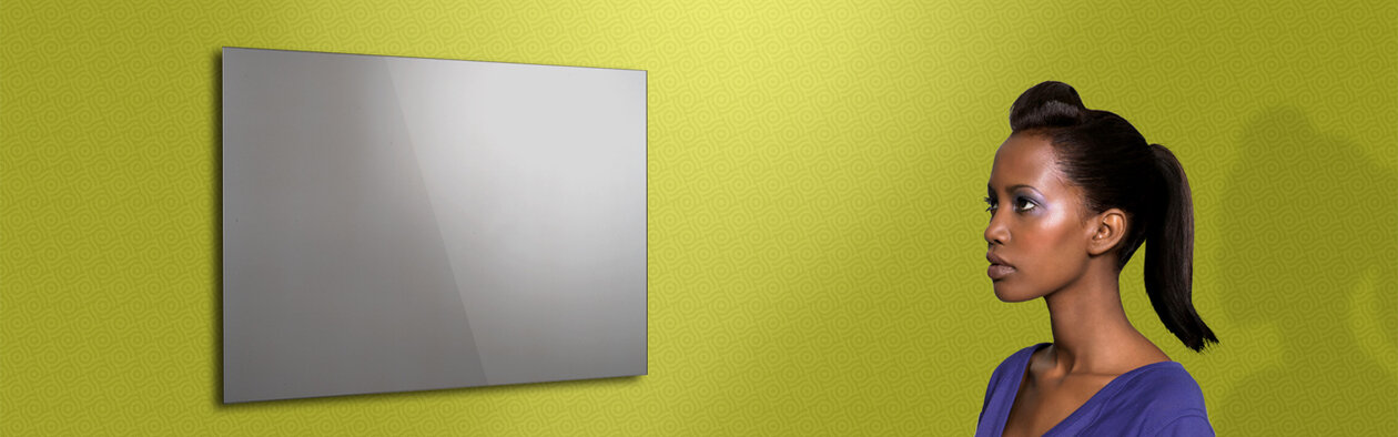 Silver Magic Mirror ad notam. Design your own